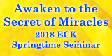You are invited to the 2018 ECK Spring Seminar